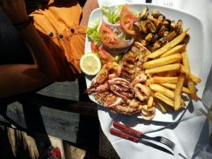 Jedlo Korfu
