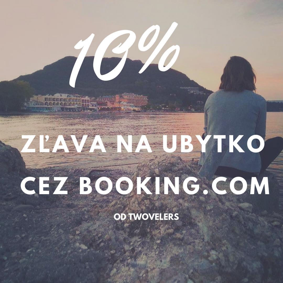 zľava na ubytovanie booking