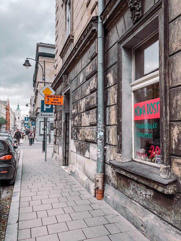 """<img src=""""Krakow second hand tania odziez.jpg"""" alt="""" second hand shops in krakow city poland"""">."""